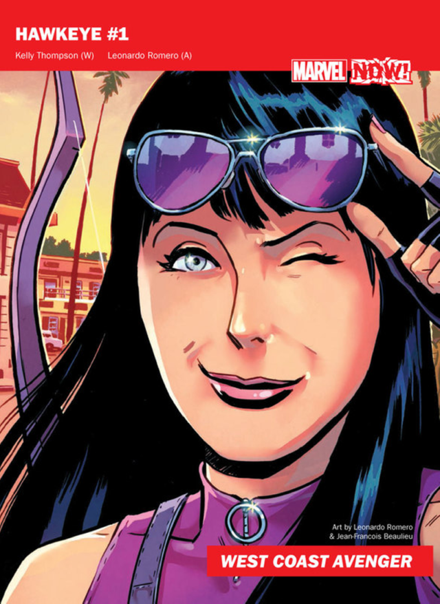 kate bishop! hawkeye!