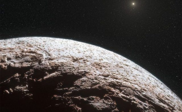 a new dwarf planet