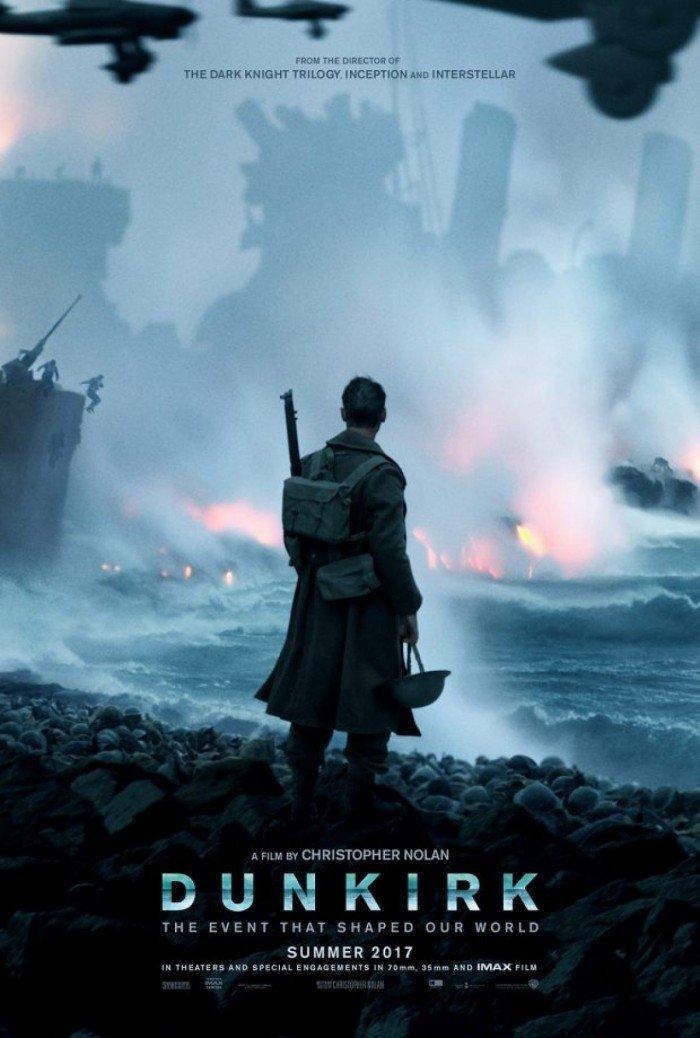 Dunkirk' Poster: Nolan's 'World War' II Films Surveys The Destruction