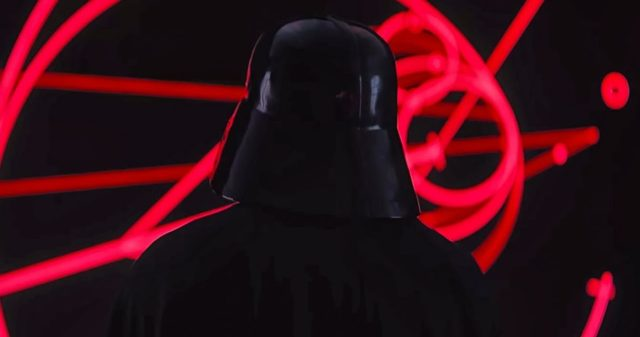 darth vader rogue one scene remade lego