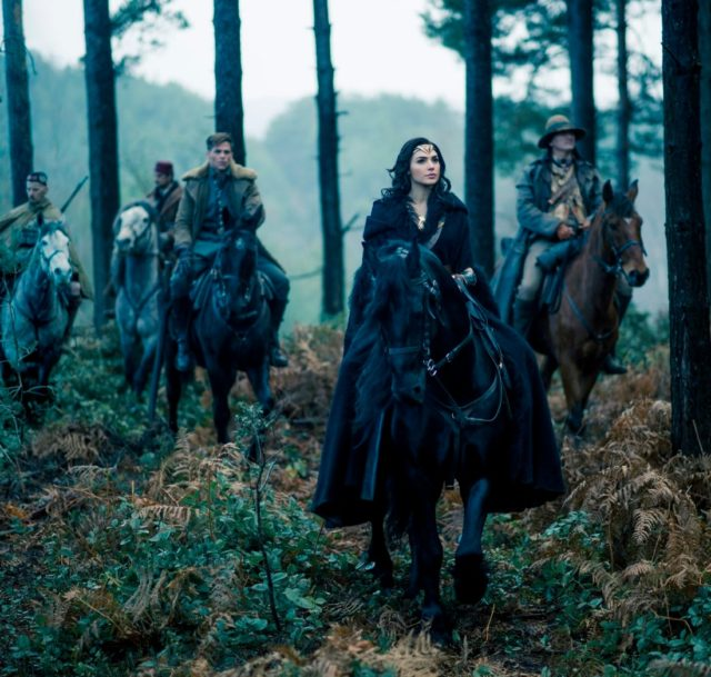 new wonder woman photo horseback