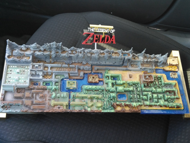 original-legend-of-zelda-map-3d-printed-2