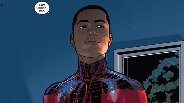 spider-man animated movie miles morales