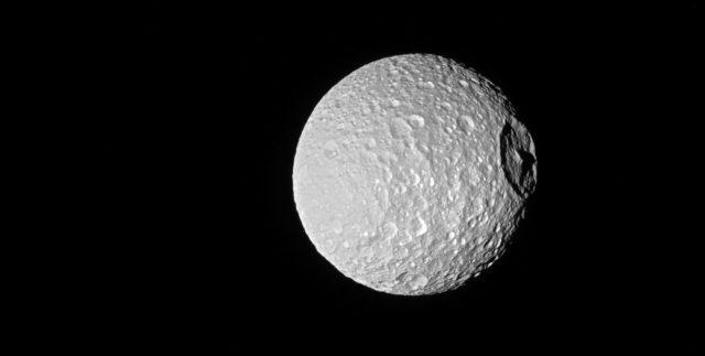 cassini saturn moon death star