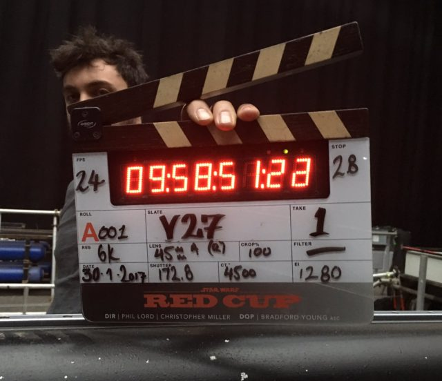 han solo movie filming