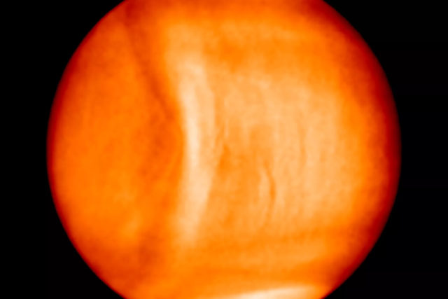 japanese spacecraft venus gravity wave