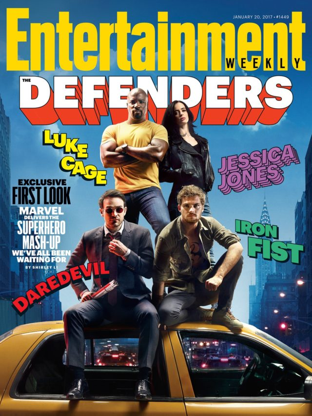 entertainment weekly the defenders