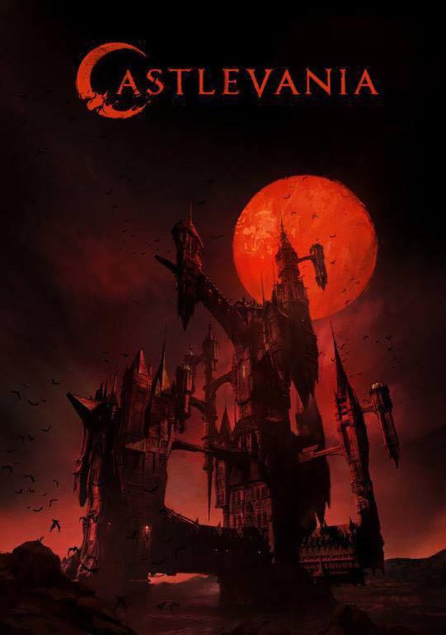 netflix castlevania poster