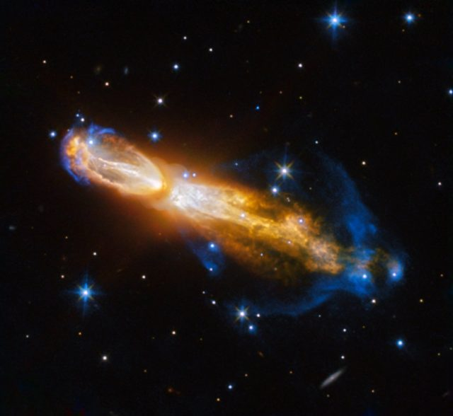 hubble death of a star