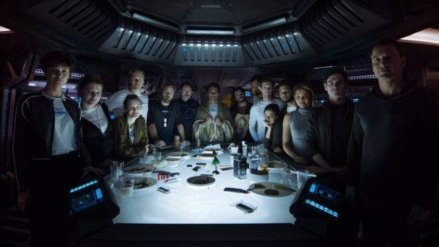 alien covenant cast