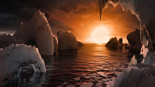 nasa 7 earth-sized planets