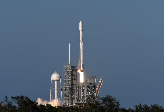 spacex launch and land used rocket