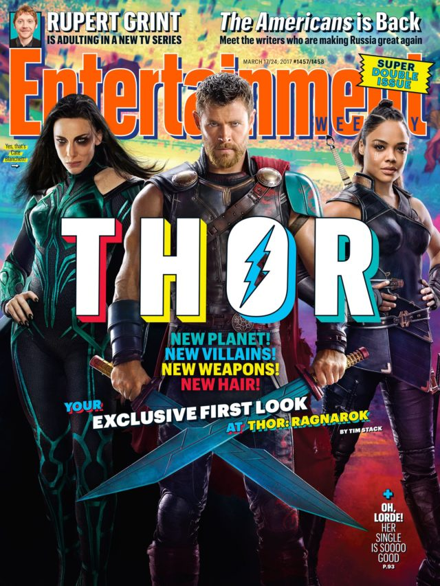 thor entertainment weekly cover