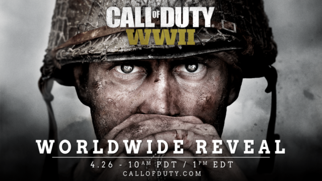 activision call of duty wwii april 26