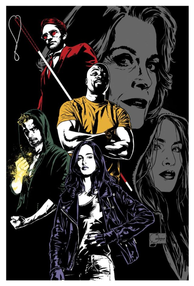 defenders poster by joe quesada
