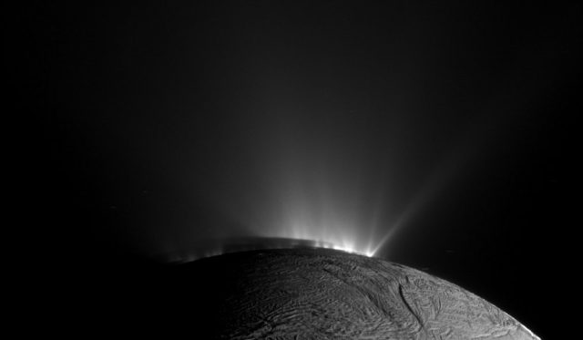 nasa conditions for life saturn moon enceladus