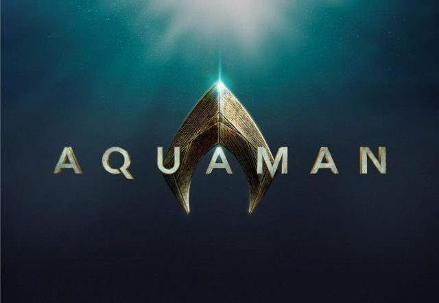 aquaman logo begins production
