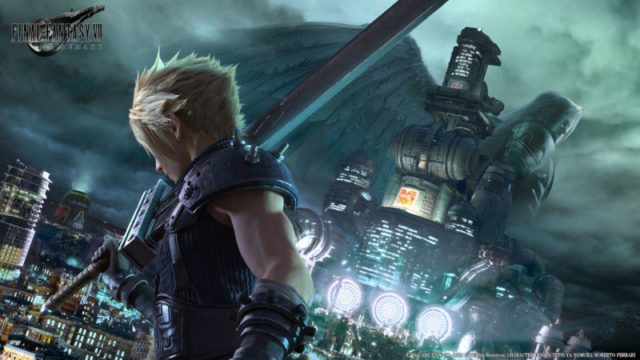 final fantasy vii remake in-house