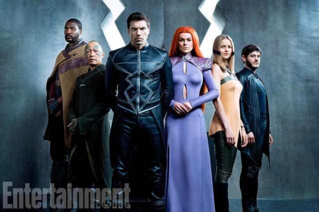 inhumans first look