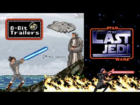 Watch: 'Star Wars: The Last Jedi' trailer gets that 16-Bit