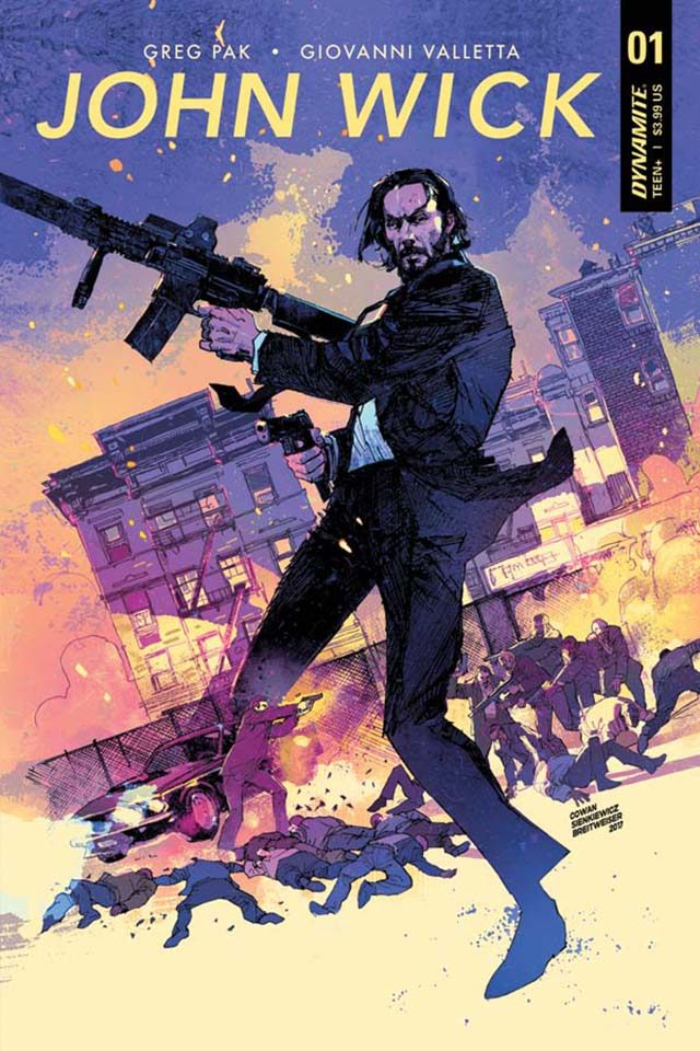 john wick prequel comic book series