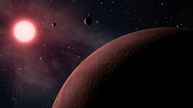nasa earth-sized planets water
