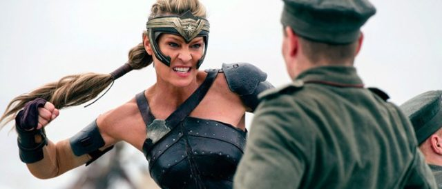 wonder woman robin wright justice league