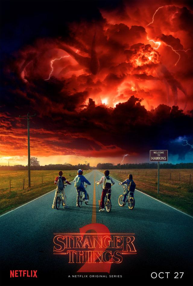stranger things season 2 teaser trailer