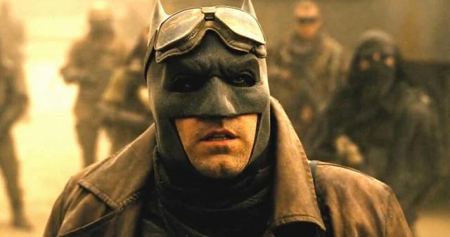 affleck the batman not dceu