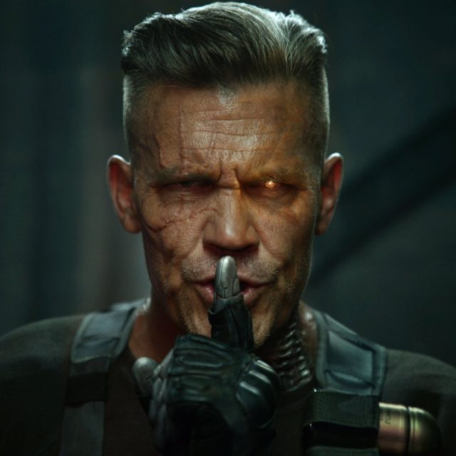 deadpool 2 josh brolin cable photos