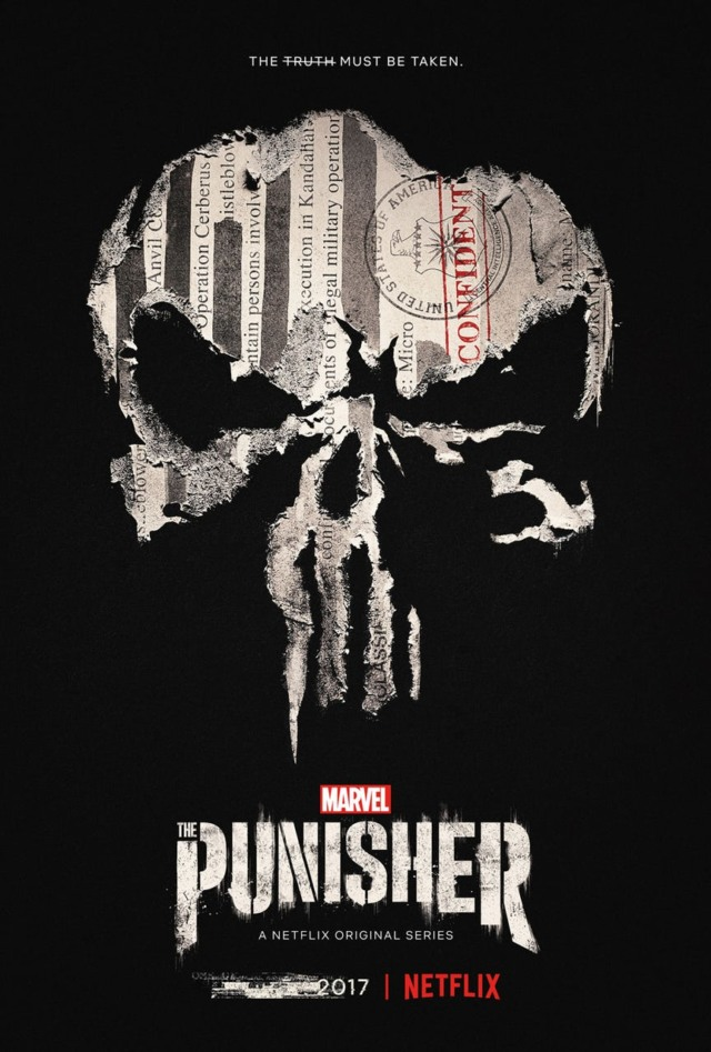 the punisher poster the truth must be taken
