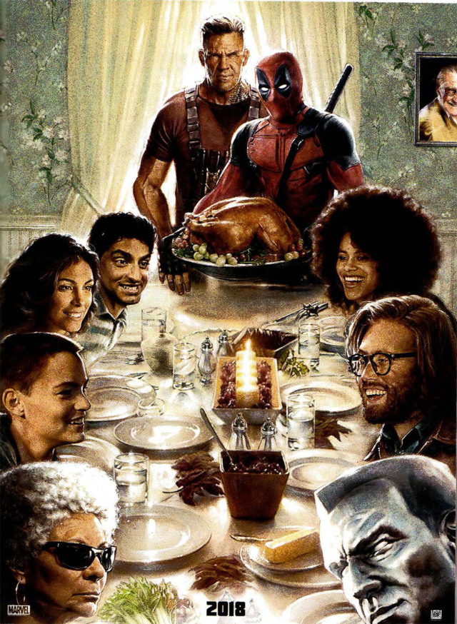 deadpool 2 first poster