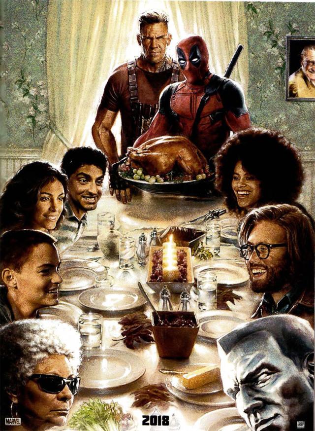 deadpool 2 first poster