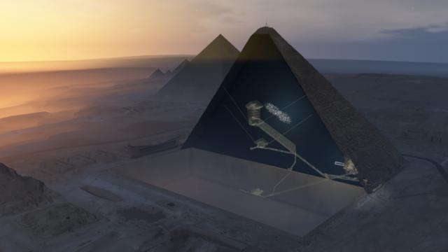 great pyramid of giza hidden chamber