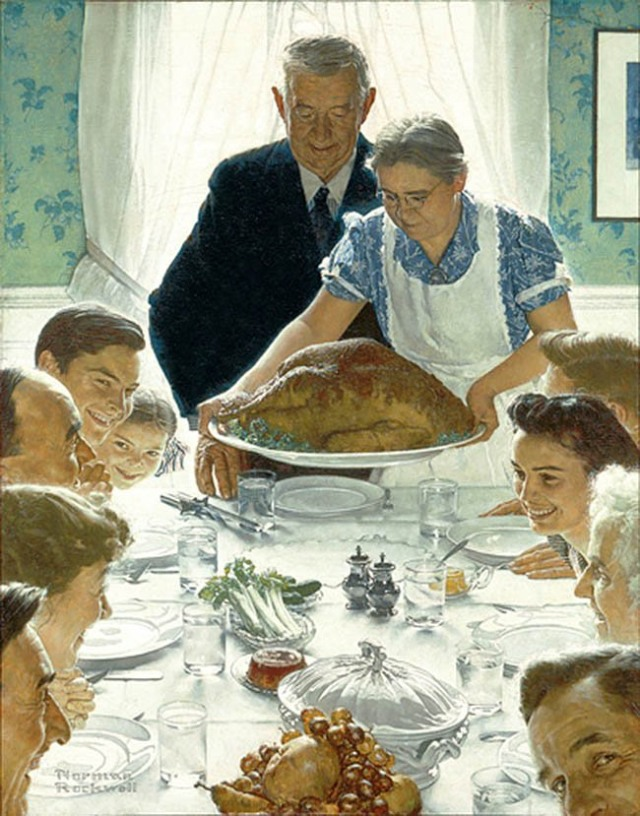 rockwell classic painting