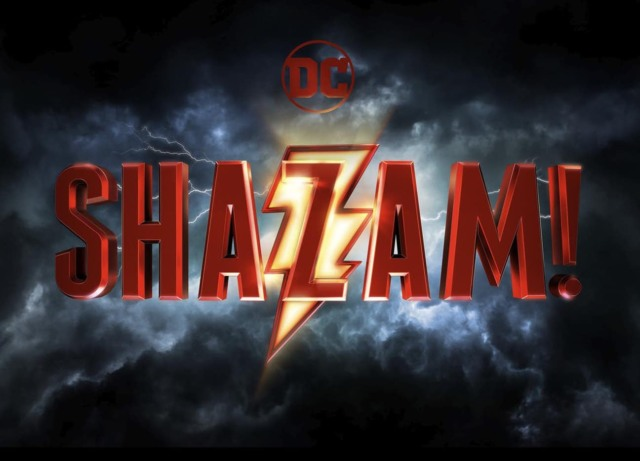 dc shazam movie official logo