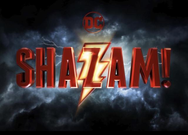 dc shazam movie official logo