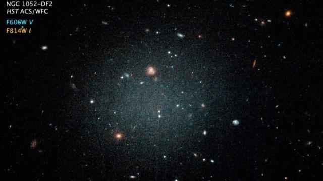 galaxy no dark matter