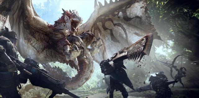 monster hunter world capcom best selling game
