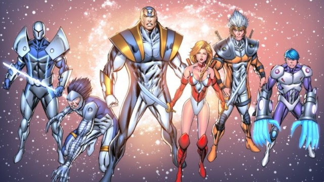 rob liefeld extreme universe netflix