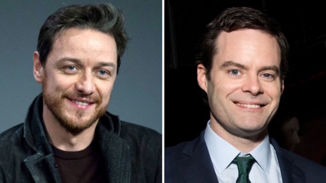 james mcavoy bill hader it chapter 2