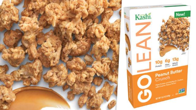 kashi peanut butter crunch