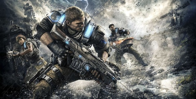 three gears of war games e3