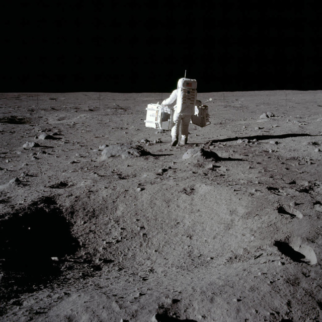 man on the moon 49 years ago today