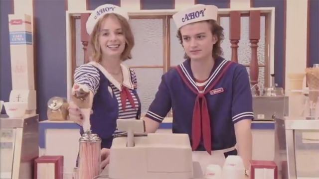 stranger things season 3 teaser food court steve