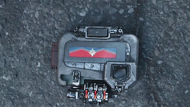 captain marvel official look merchandise