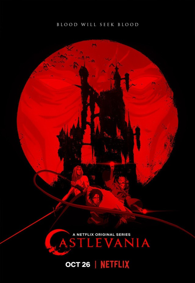 castlevania season 2 poster blood will seek blood