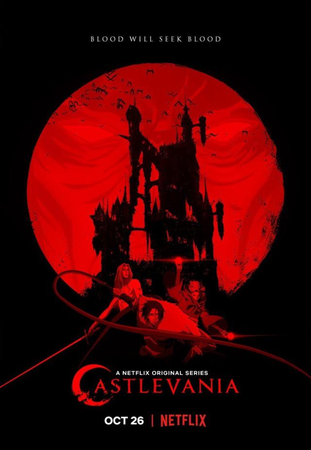 castlevania season 2 poster blood will seek blood