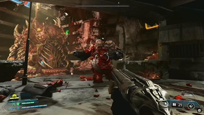Doom Eternal Gameplay Footage Ripping And Tearing Is Back Somehow Even Better Than Before