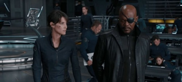 nick fury maria hill spider man far from home